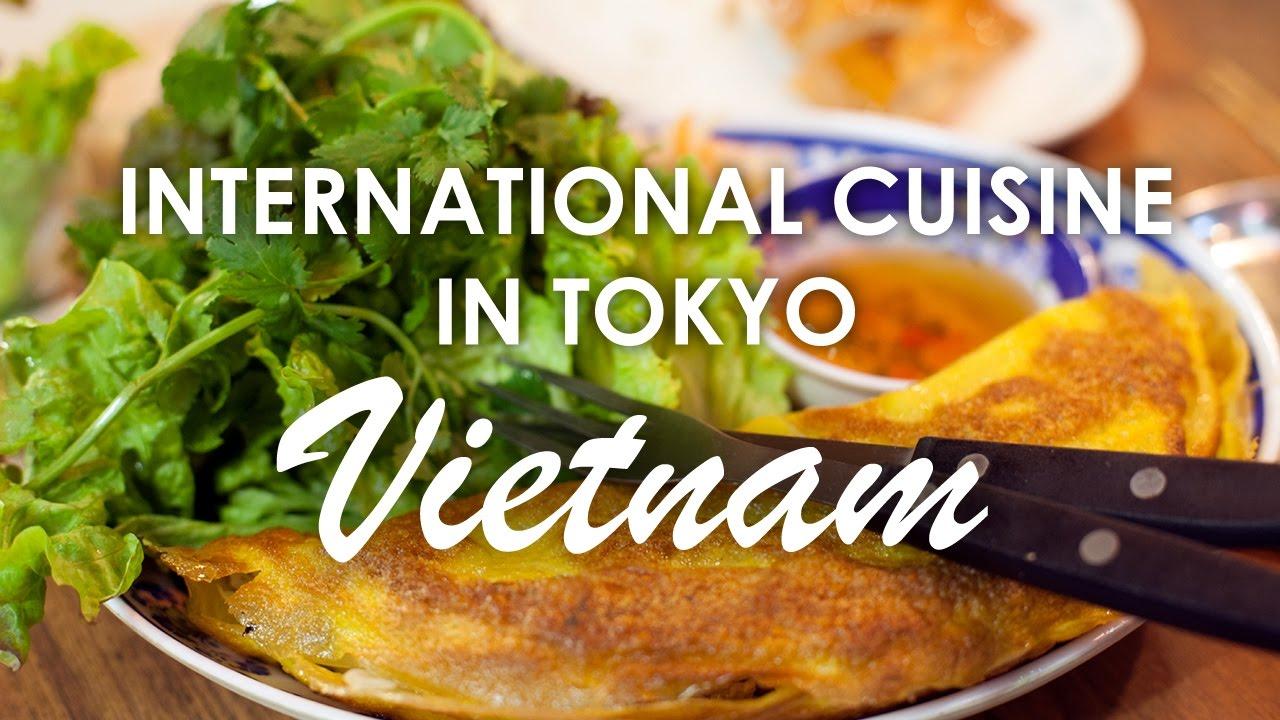 Wietnamska Restauracja Kuchnie Swiata W Tokio