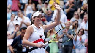 Johanna Konta vs Karolina Pliskova | US Open 2019 R4 Highlights