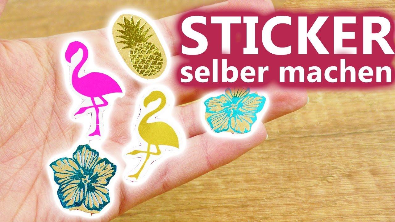 Diy Inspiration Challenge 107 Sticker Selber Machen Evas Challenge Diy Sonntag Challenge