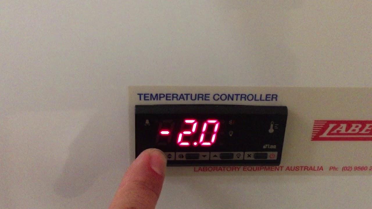 LAE Controller - Setting Alarm Values