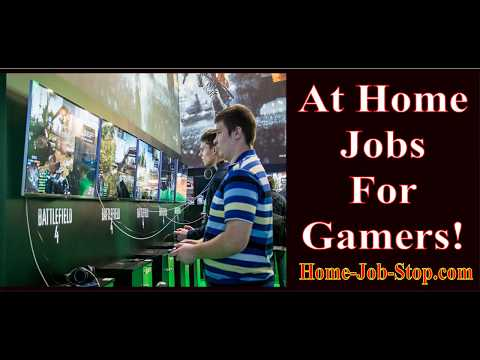 Jobs for Gamers - Work From Home - $1,000 Sign On Bonus - Remote Telecommute Virtual Jobs