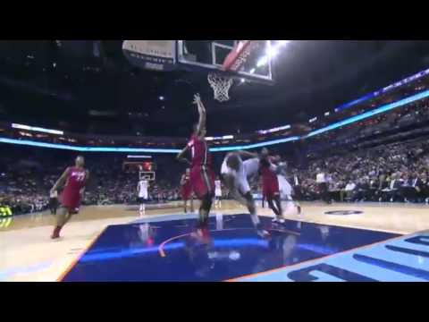 Kemba Walker ANKLE Injury   Miami Heat vs Charlotte Bobcats   January 20, 2014   NBA 2013 14 Season