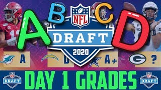 2020 NFL Draft GRADES | NFL Draft Day 1 Winners & Losers