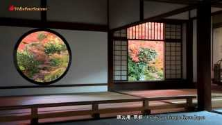 京都 源光庵の紅葉 Genko-an Temple Kyoto Japan 【HD】美しい日本の風景 The Beautiful Scenery of Japan