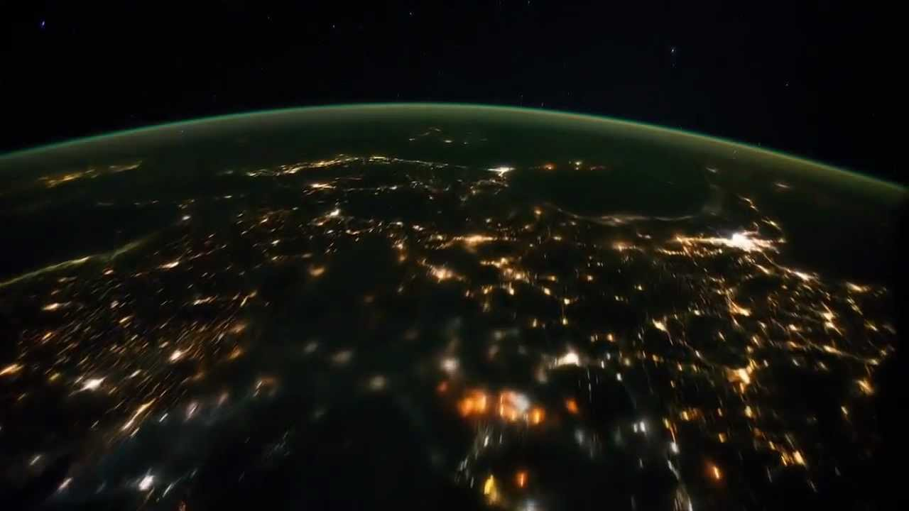 Earth view by Satellite cam - YouTube