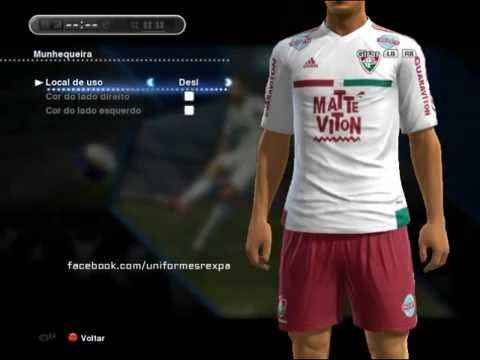 68d687aaa2dab Kits Fluminense 2015-2016 (PES 2013) - YouTube
