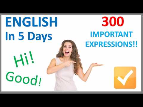 Learn English in 5 Days - Conversation for Beginners