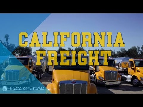 Customer Stories – California Freight Lines – The New Look Of Transportation