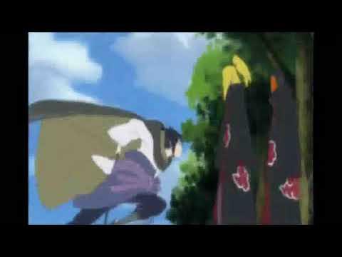 Naruto Shippuden AMV_Sasuke Vs Deidara_Hunting High And Low-Stratovarius