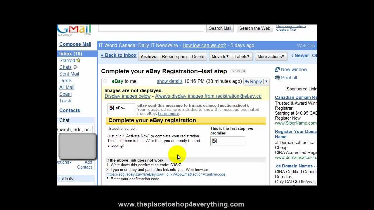 How to register on eBay 43