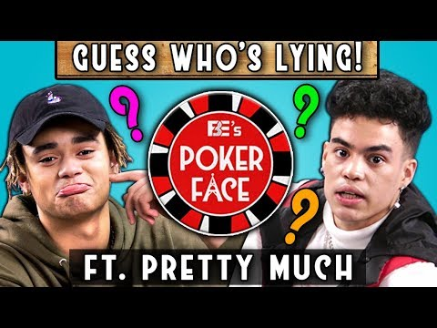 Who Is The Best Liar In This Boy Band? | Poker Face ft. PRETTYMUCH