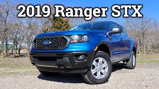 2019 Ford Ranger XL STX Review | Can it Steal the Tacoma's Crown?