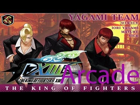The King Of Fighters Xiii Arcade Yagami Team Youtube