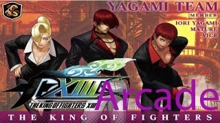 The King Of Fighters XIII Arcade - Yagami Team