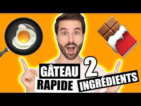 comment-faire-un-gateau-au-chocolat-avec-2-ingrédients---recette-facile-et-rapide