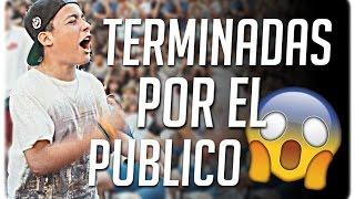 RIMAS TERMINADAS POR EL PUBLICO EN BATALLAS DE RAP !!! #1