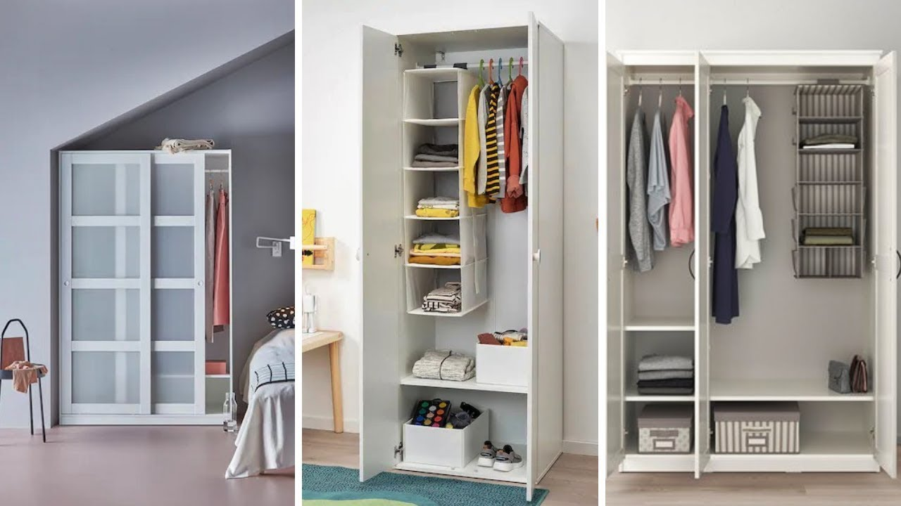 12 Best Ikea Wardrobe Ideas For Small Bedrooms Youtube