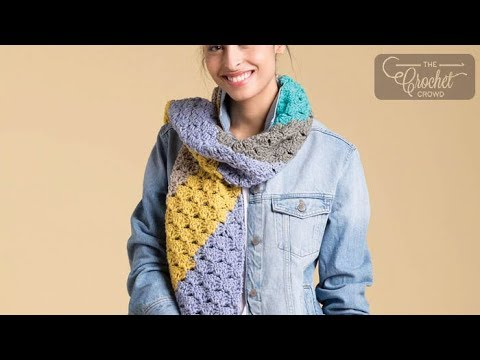Crochet Corner to Corner Scarf