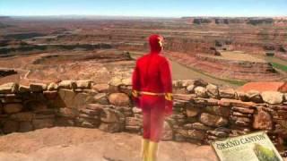 The Big Bang Theory - Sheldon's Flash trip to the Grand Canyon