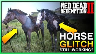 Red Dead Redemption 2 Horse Glitch Still Working? - Red Dead 2 Horses - RDR2 Horse