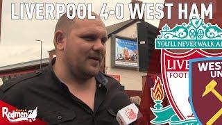 'Naby Keita Is Amazing!' | Liverpool 4-0 West Ham | West Ham Fan TV Reaction