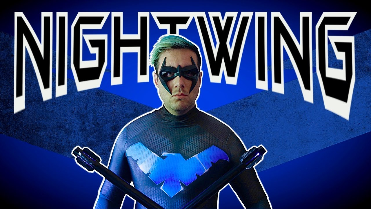 Nightwing Cosplay Transformation