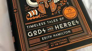 Mythology : Timeless tales of Gods and Heroes 75th Anniversary Illustrated Edition by Edith Hamilton