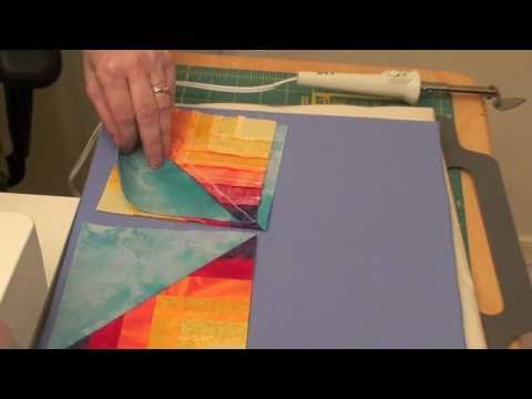 How To Machine Embroider Piece-in-the-Hoop Quilting Designs