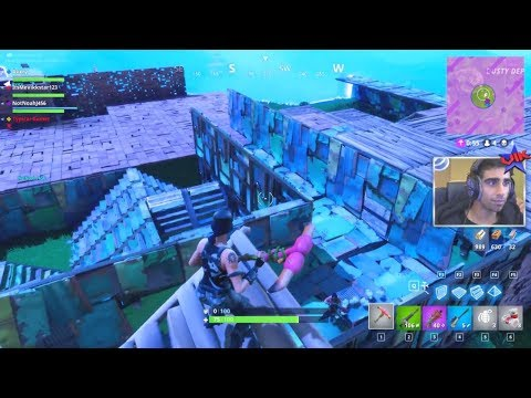 INSANE DEATH TRAP HOUSE IN FINAL CIRCLE! - FORTNITE BATTLE ROYALE