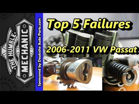 Top 5 Failures of 2006-2011 VW Passats