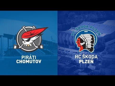 25. Kolo O Pohár DHL: Piráti Chomutov Vs HC Škoda Plzeň