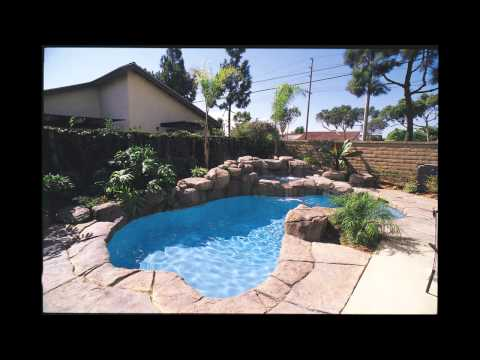 Freeform swimming pool designs