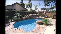 Freeform swimming pool designs