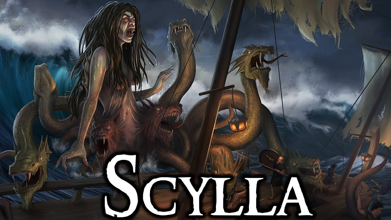 Scylla: The Story Behind Greek Mythology's Deadliest Sea Monster - (Greek Mythology Explained)