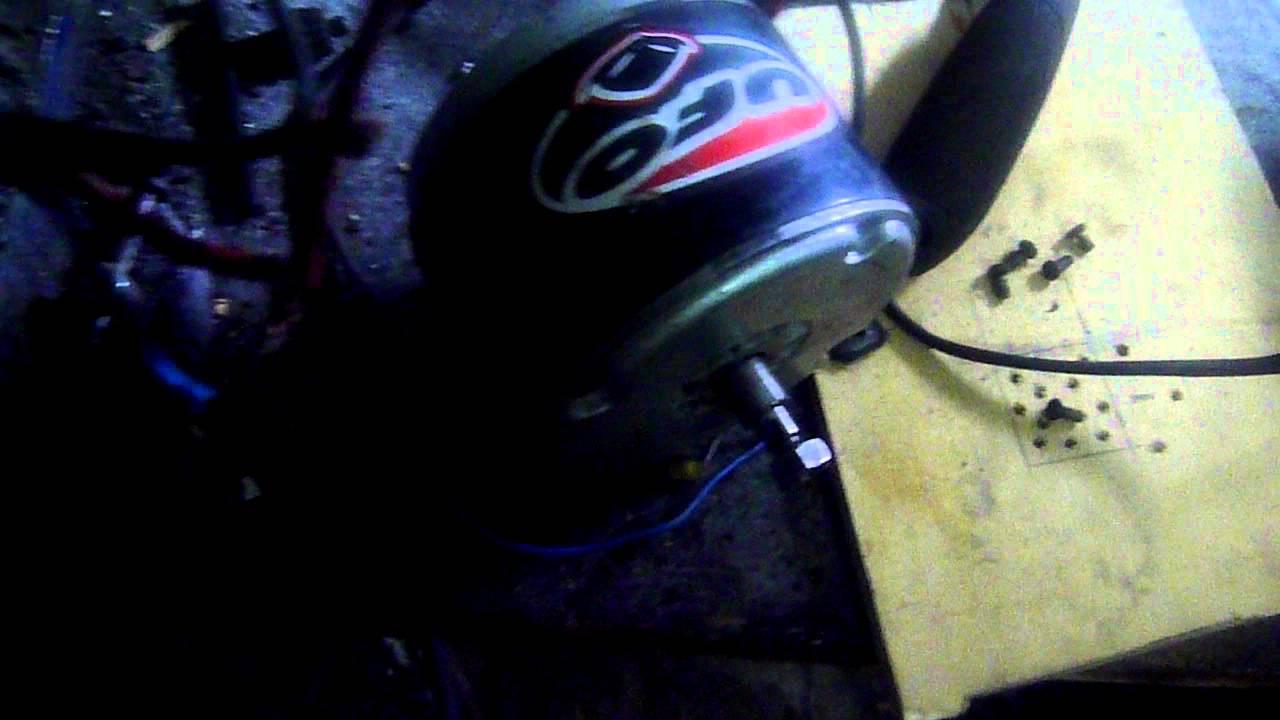 Schema Elettrico Ape Tm 703 : Motore di avviamento alternatore ape tm youtube