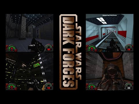 Star Wars Dark Forces Mod - Unofficial Continuation - 4 Level Playthrough