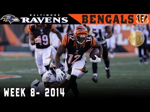 Dalton Sneaks the Bengals Into First! (Ravens vs. Bengals, 2014) | NFL Vault Highlights