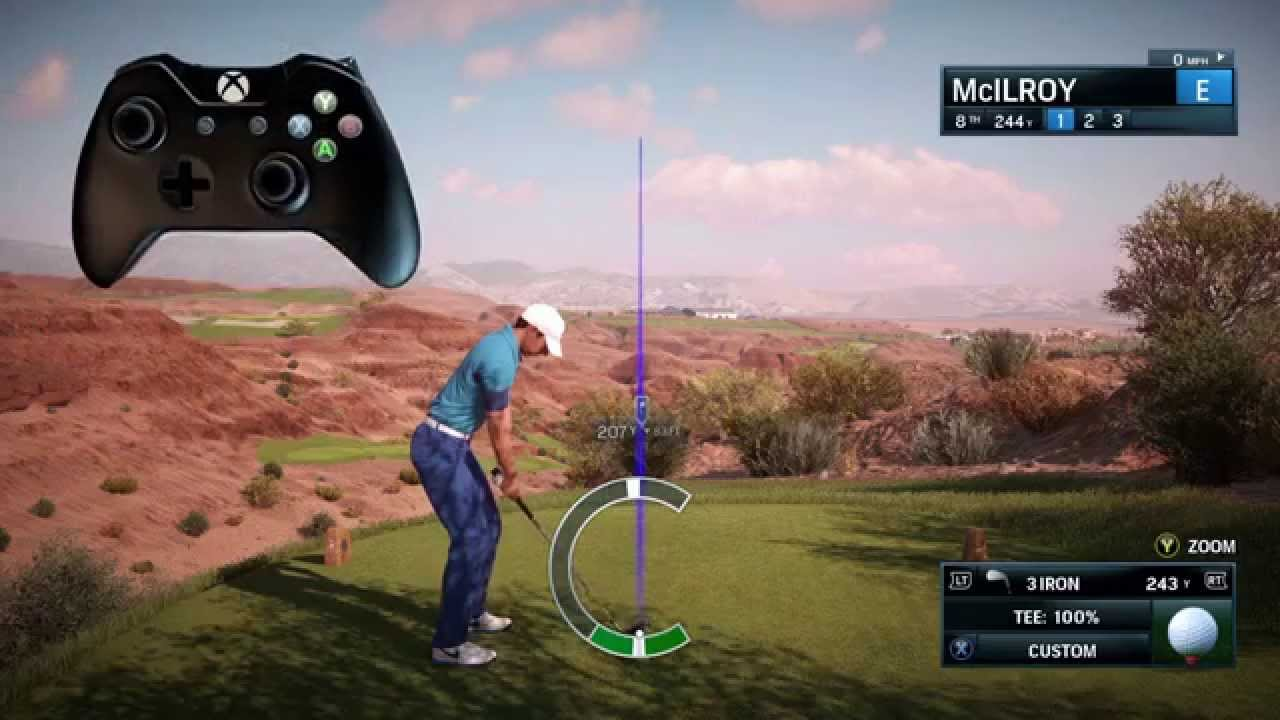 Ea Sports Rory Mcilroy Pga Tour Gameplay Features