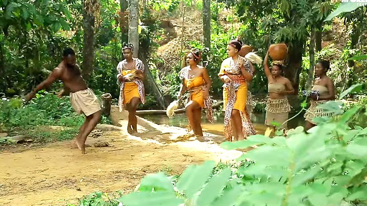 Download THE THREE PRETTY PRINCESSES AND THE VILLAGE DRUNK {New Epic Movie} - 2020 African Nollywood Movie