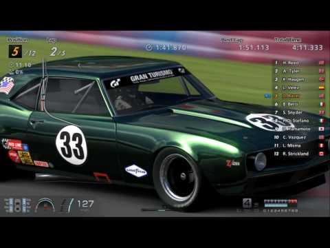 1969 Chevrolet Camaro Z28 Race Car -   Grand Valley Speedway (GT6)