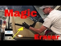 The Magic Eraser Challenge! (Clean your car or truck interior)