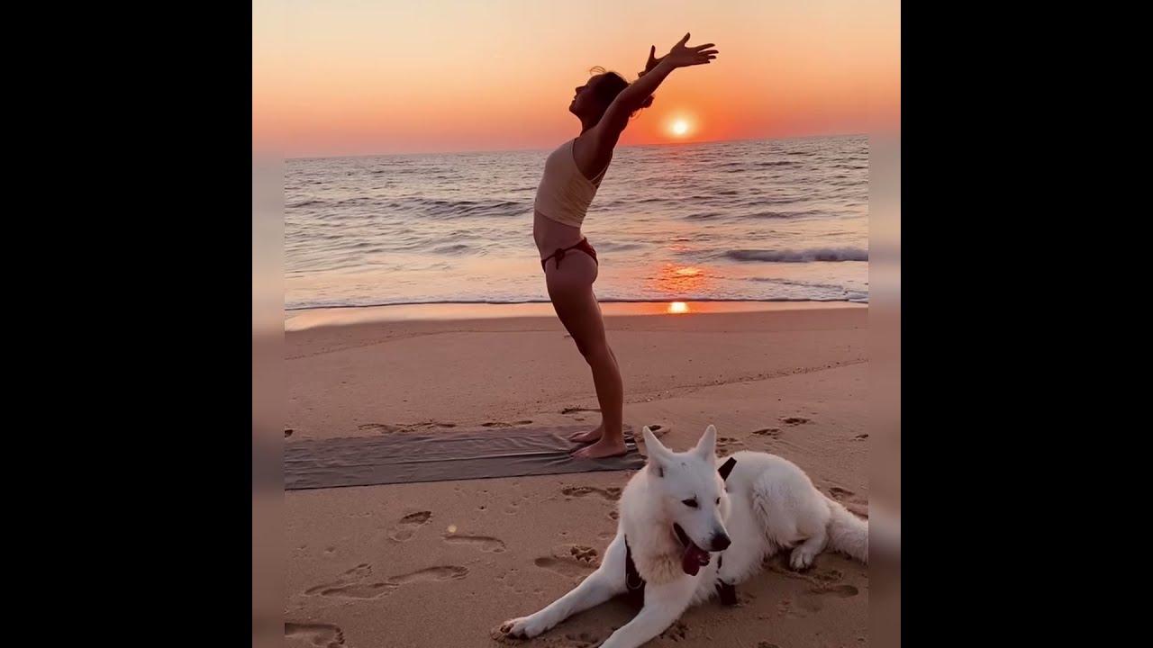 Yoga-Inspiration...zum Zuschauen und Genießen