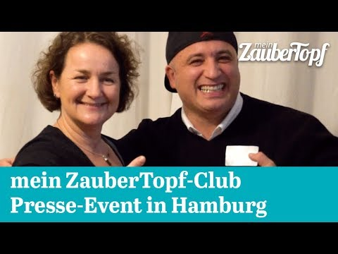 mein ZauberTopf-Club Presse-Event in Hamburg