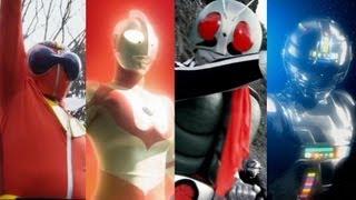 1.ロンリー仮面ライダー:子門真人(仮面ライダー) 2.星獣戦隊ギンガマ...