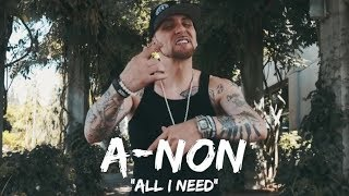 "Christian Rap - A-NON - ""All I Need""(@aenon503 @ChristianRapz)"