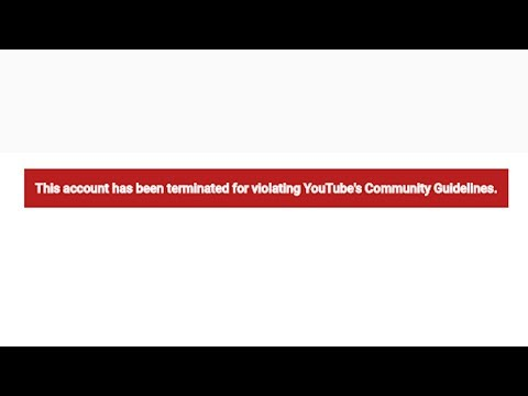 My Channel Was Terminated for 10 Hrs | Youtube Glitch?