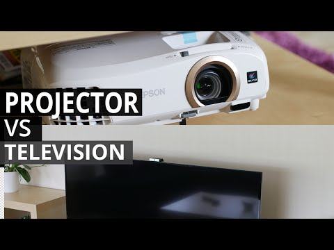 TV vs Projector - The Experience
