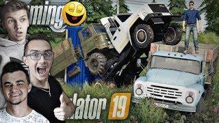Żniwa i Wyścigi Cieżarówkami! BEKA FS 19 ☆Na Rosji #02✔MST