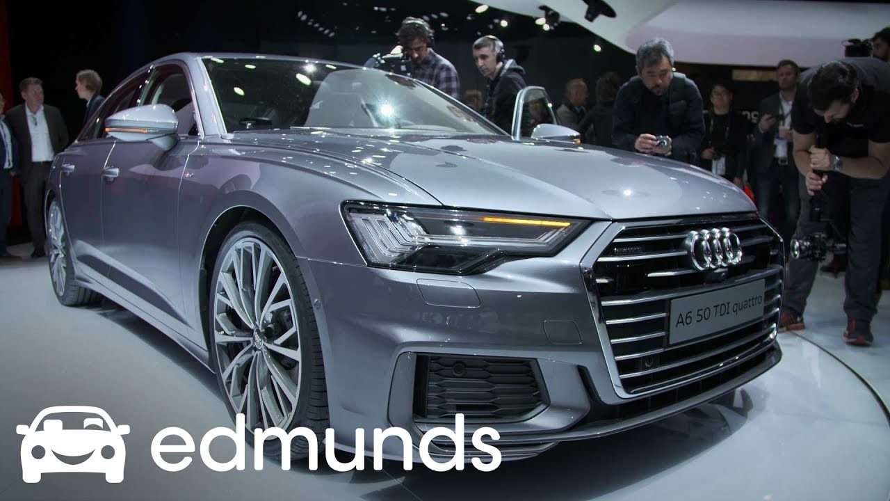 2019 audi a6 unveil edmunds. Black Bedroom Furniture Sets. Home Design Ideas
