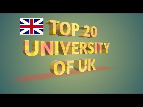 Top 20 Ranking University of UK